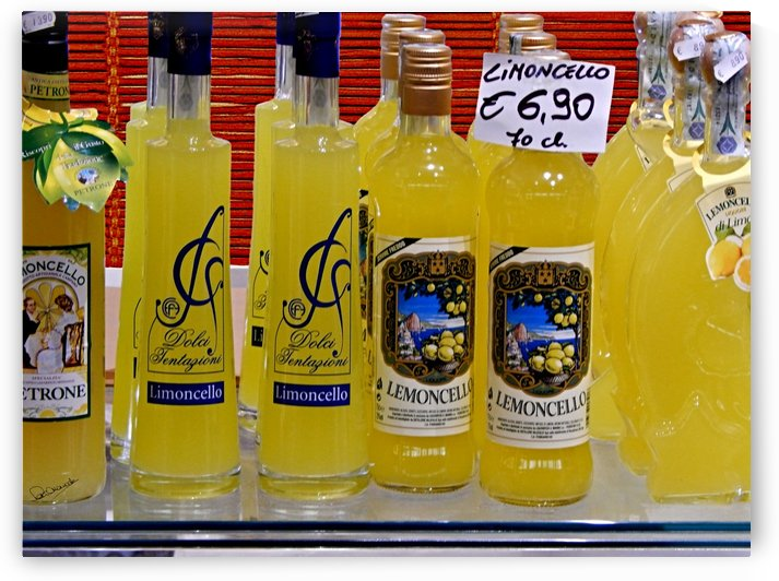 Limoncello Selection by Shadow and Form