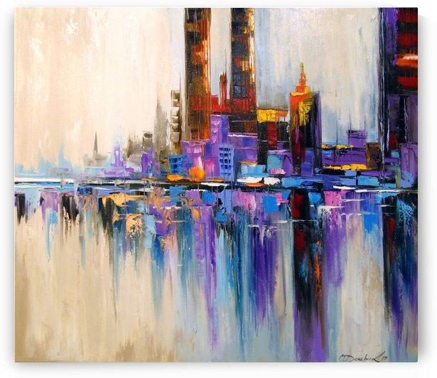 City Tetris  by Olha Darchuk