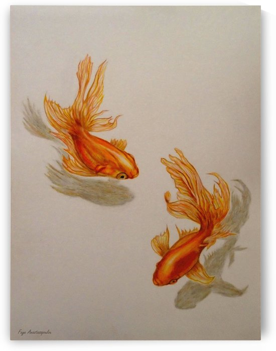 Goldfish Twins by Faye Anastasopoulou