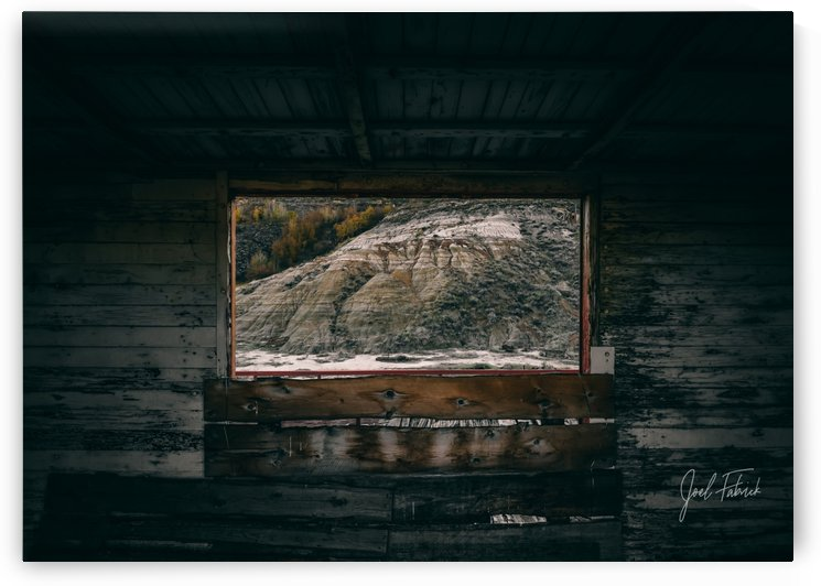 Atlas Coal Mine Window From The Past by Joel Fabrick