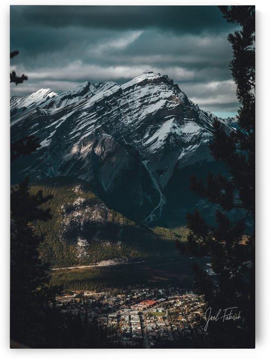 Cascade Mountain Moody Views by Joel Fabrick