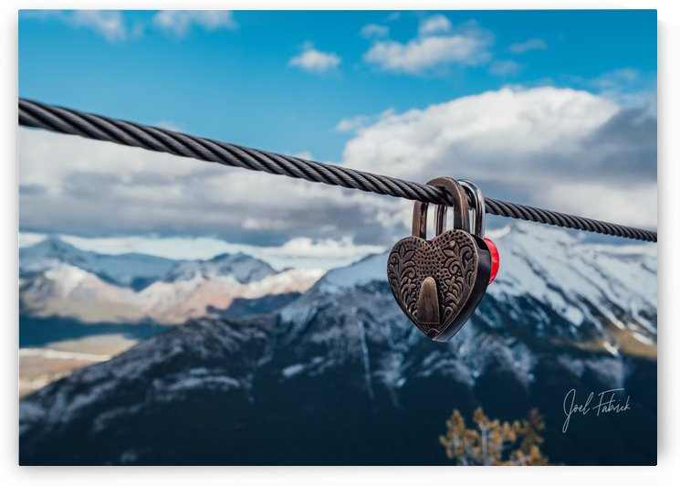 Locked Hearts At The Top Of The World by Joel Fabrick
