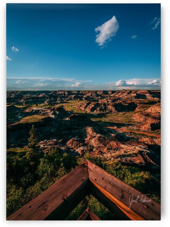 Horseshoe Canyon Overlook by Joel Fabrick