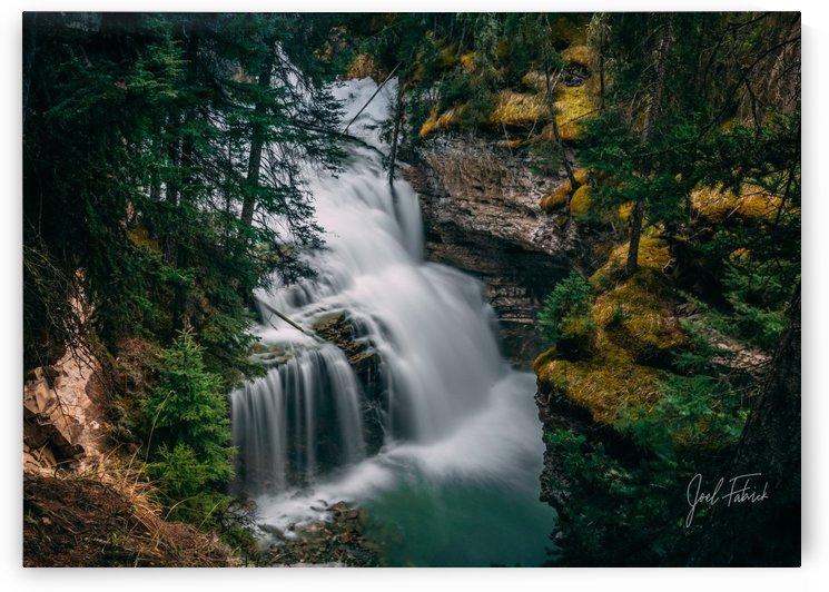 Johnson Canyon Trail Falls Long Exposure by Joel Fabrick