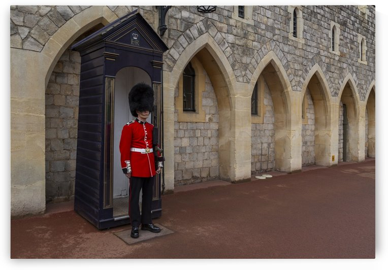 A Windsor Castle Guard by Leighton Collins