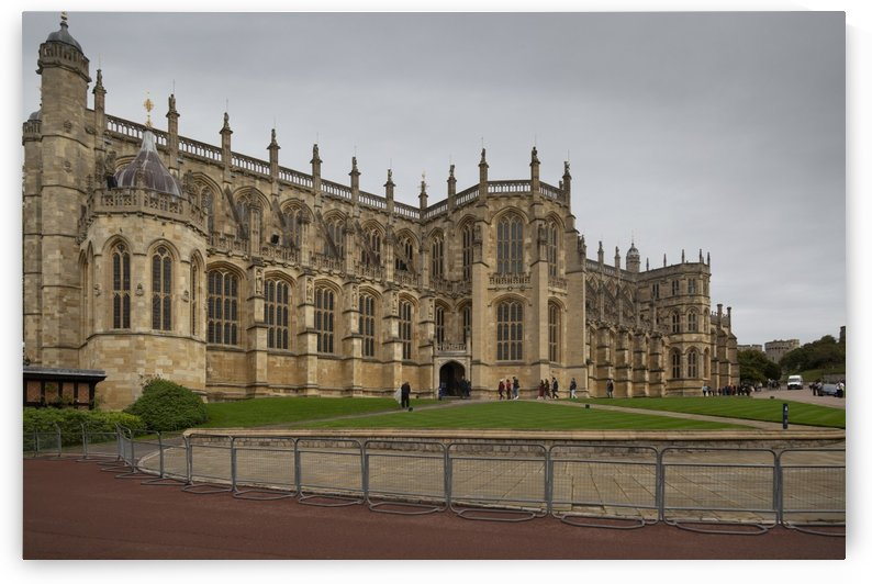 St Georges Chapel in Windsor Castle by Leighton Collins