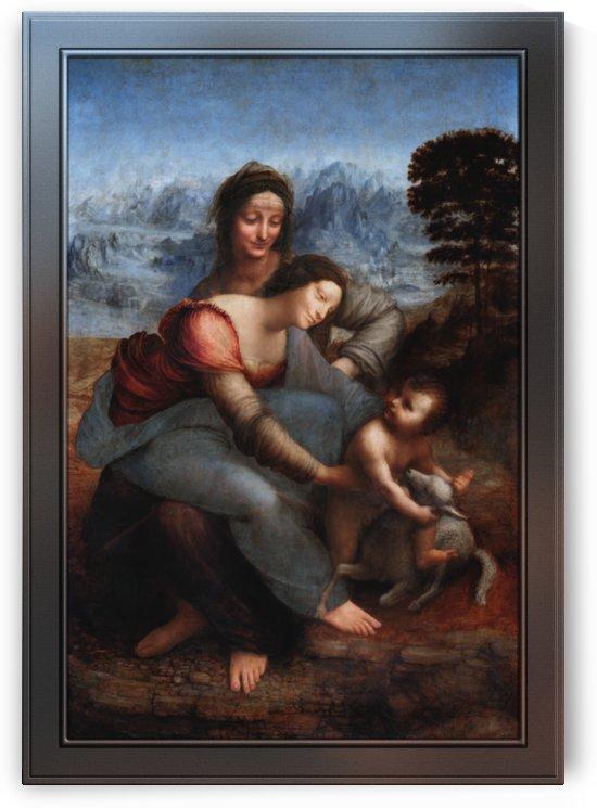 The Virgin and Child with St. Anne by Leonardo da Vinci by xzendor7