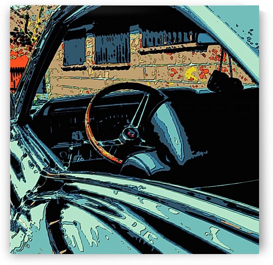 classic car by Bratty ART