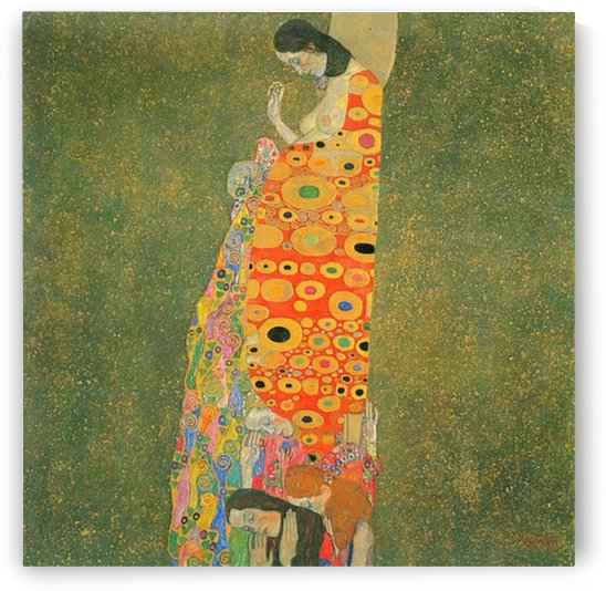 Abandoned Hope by Klimt by Klimt
