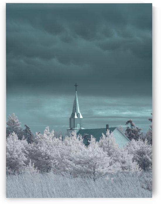 Infrared Church by Brent Mckean