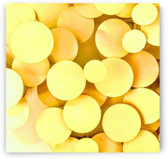 yellow circles by Bratty ART