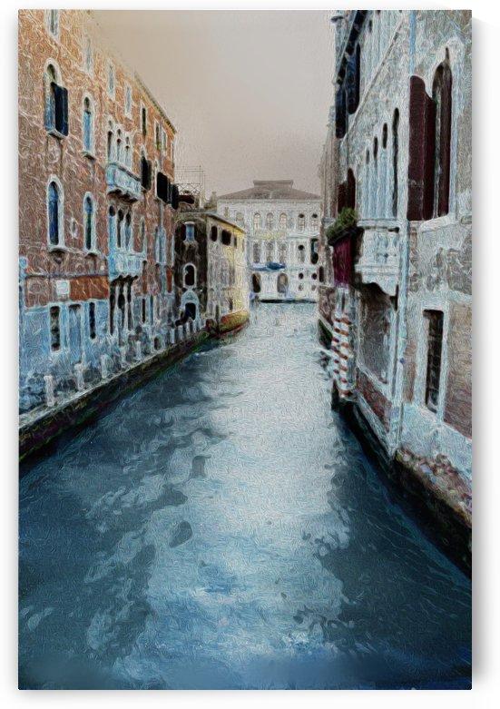 Venice Little Canal by Lutz Roland Lehn