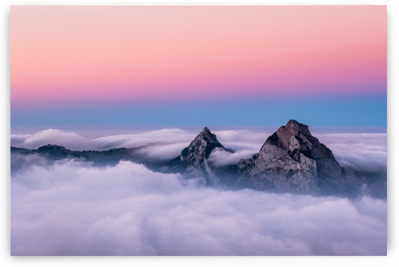 Colorful Switzerland Landscape. by Smithson