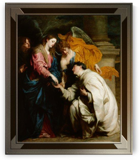 Blessed Joseph Hermann by Anthony van Dyck by xzendor7