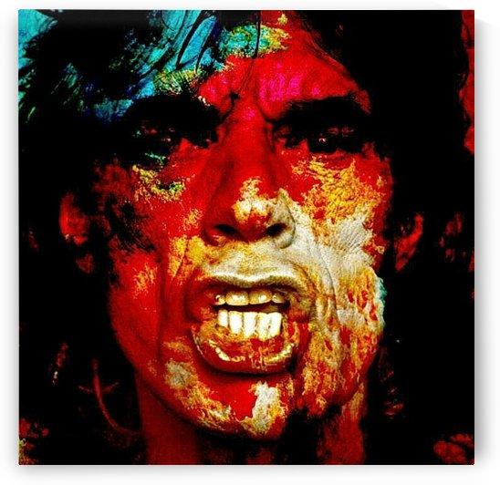 Mick Jagger the stone by Ivan Venerucci Italian Style