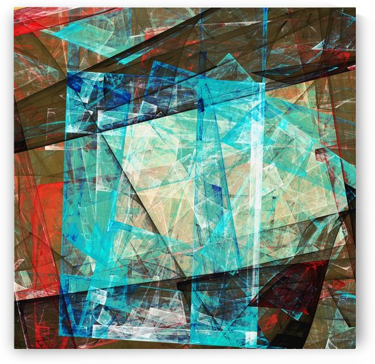 Abstract Composition 458 by Angel Estevez