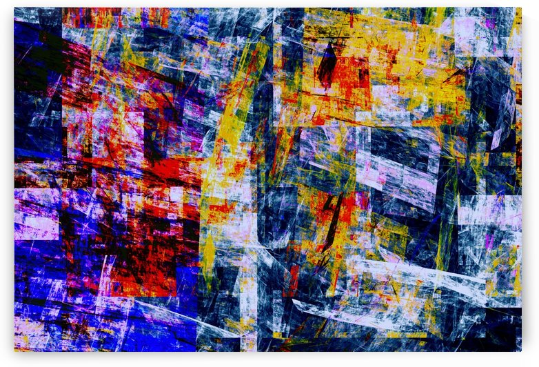Abstract Composition 483 by Angel Estevez