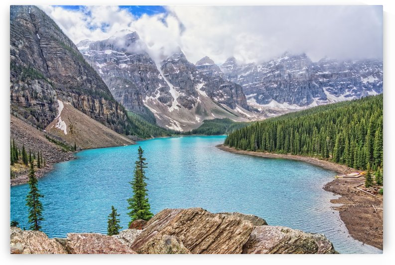 Moraine Lake in Banff National Park BC by Boehm Photography