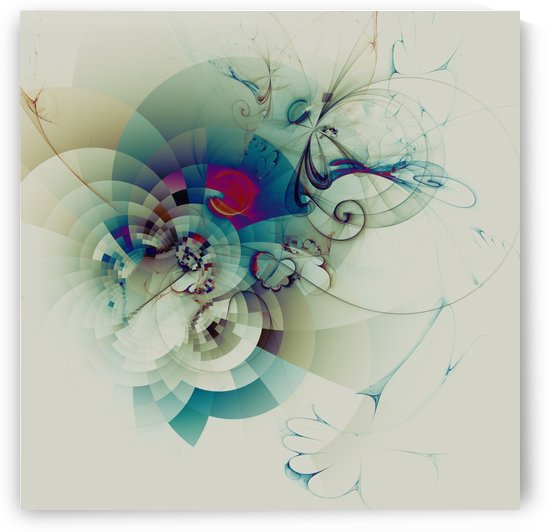 Abstract Composition 100 by Angel Estevez