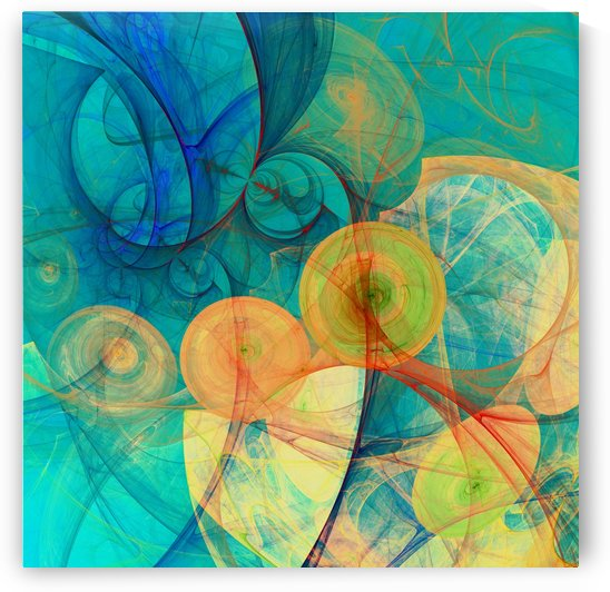 Abstract Composition 324 by Angel Estevez
