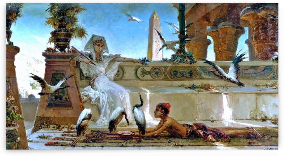 Cleopatra by Jean-Leon Gerome