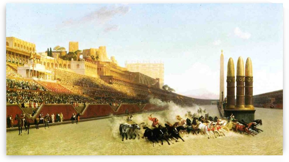 Circus Maximus by Jean-Leon Gerome