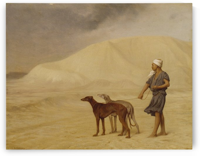 On the Desert by Jean-Leon Gerome