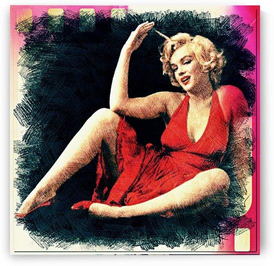 Marilyn Monroe  woman spring  by Ivan Venerucci Italian Style