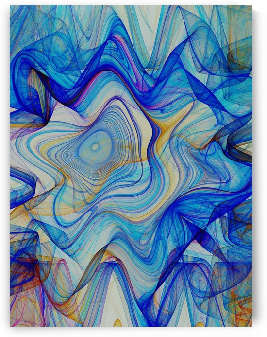 Abstract Composition 397 by Angel Estevez