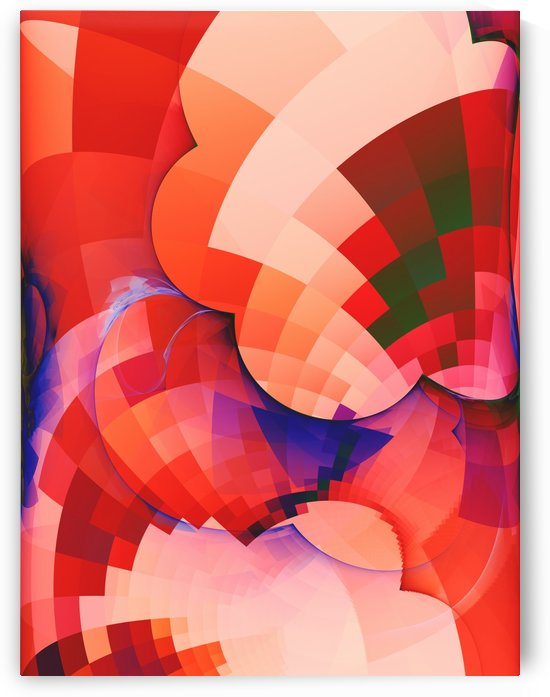 Abstract Composition 410 by Angel Estevez