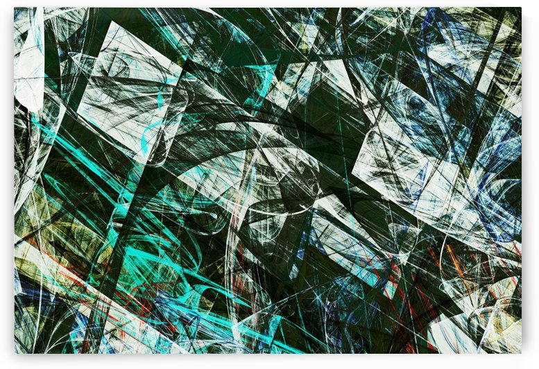 Abstract Composition 418 by Angel Estevez