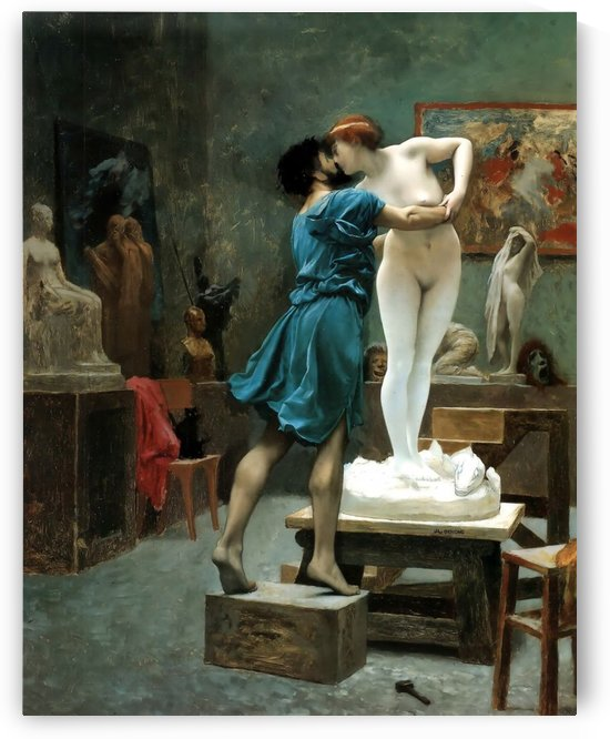 Pygmalion and Galatea by Jean-Leon Gerome