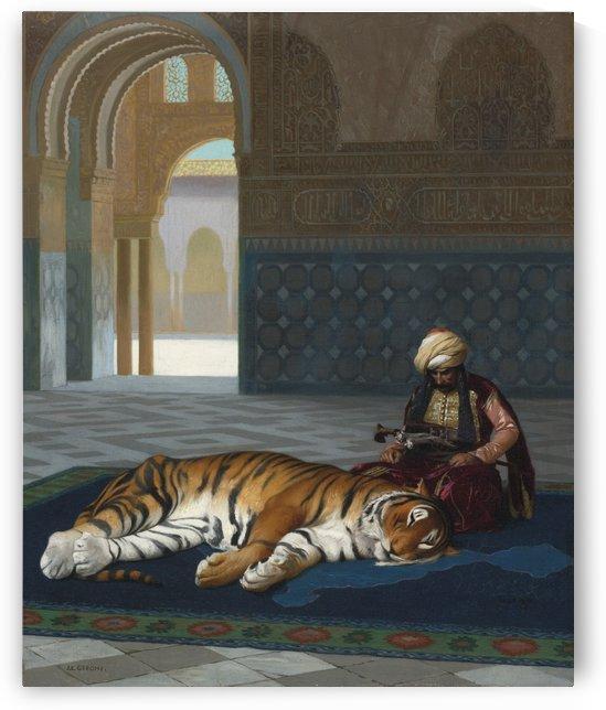 Oriental lot by Jean-Leon Gerome