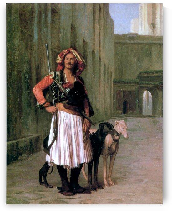 Arnaut of Cairo by Jean-Leon Gerome