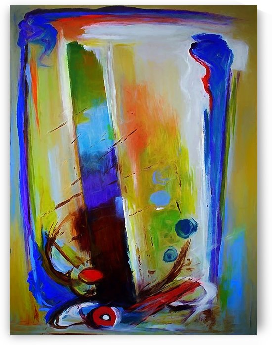 Abstract Composition 44 by Angel Estevez