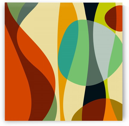 Abstract Composition 748 by Angel Estevez