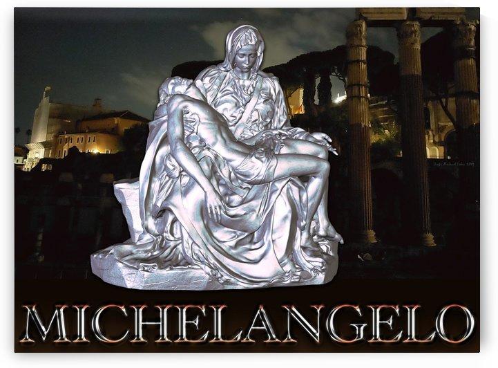 Michelangelo Roman Pieta 2 by Lutz Roland Lehn