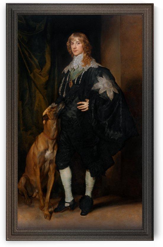 Portrait of James Stuart Duke of Richmond and Lenox by Anthony van Dyck by xzendor7