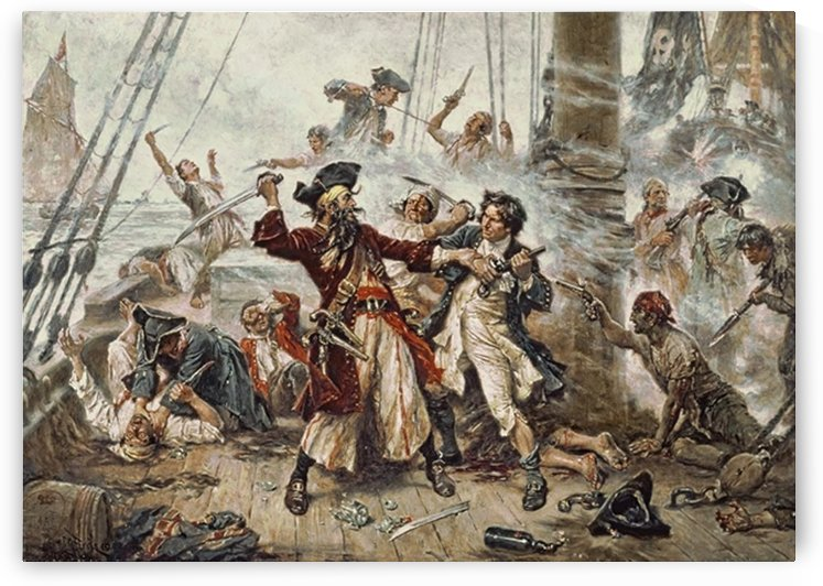 Capture of the Pirate by Jean-Leon Gerome