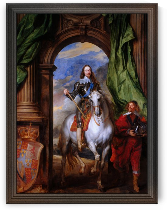 Charles I with M. de St Antoine by Anthony van Dyck by xzendor7