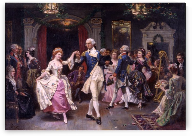 Party at the palace by Jean-Leon Gerome