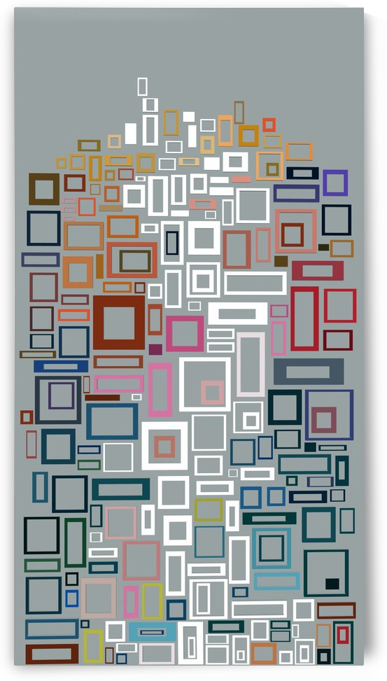 Abstract Composition 685 by Angel Estevez
