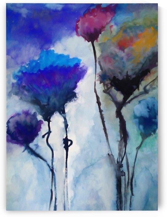 Floral 3 by Angel Estevez