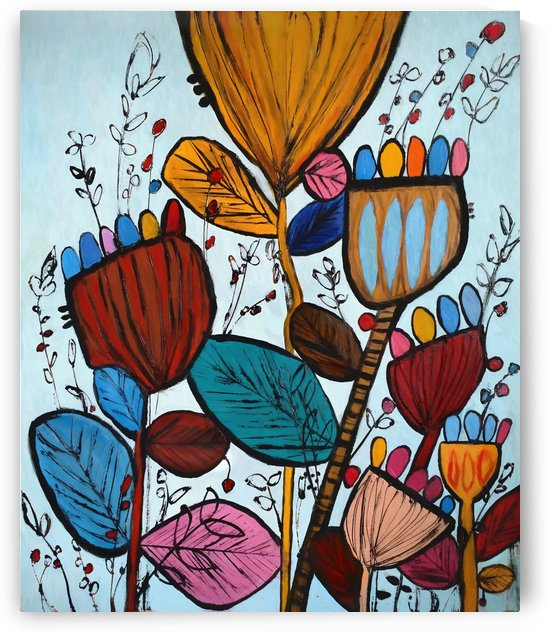 Wildflowers 2 by Angel Estevez