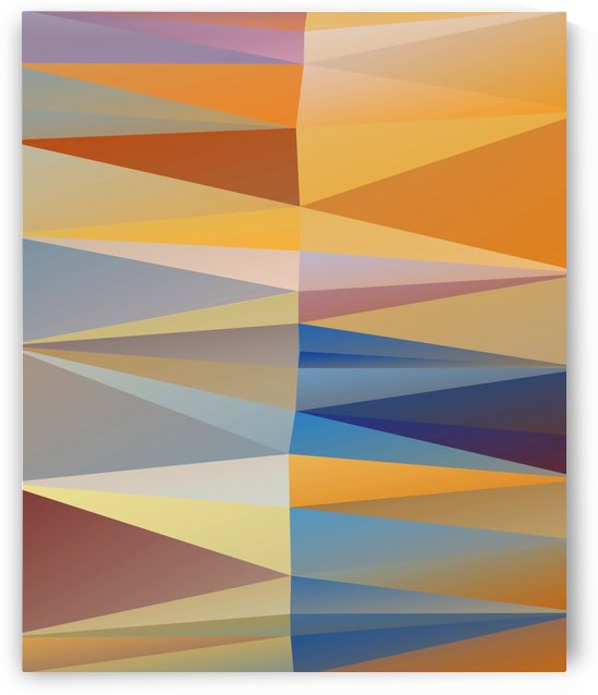 Abstract Composition 665 by Angel Estevez