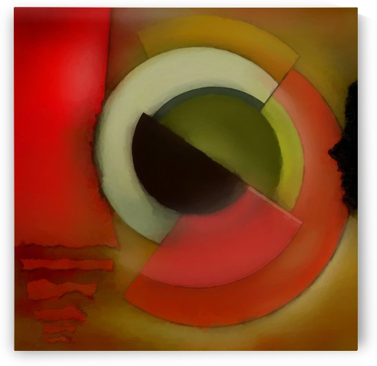 Abstract Composition 200 by Angel Estevez