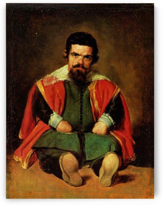 Don Sebastian de Morra by Diego Velazquez