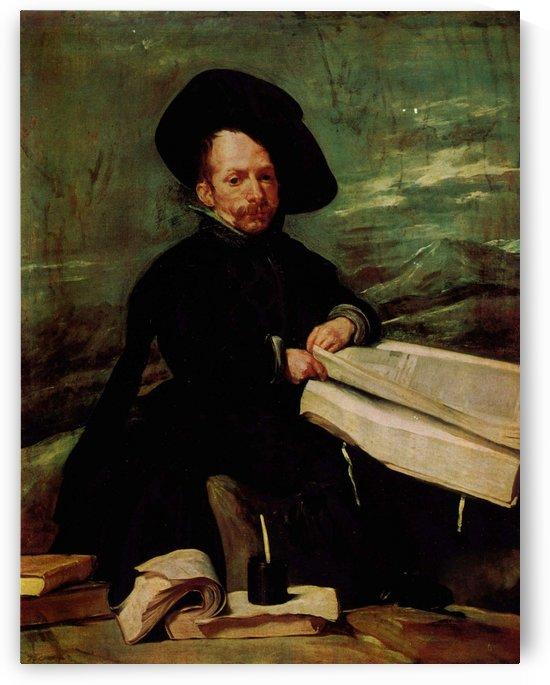 Portrait of a wise man by Diego Velazquez