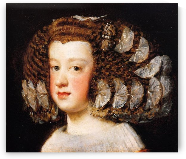 Infanta Maria Theresa, daughter of Philip IV of Spain by Diego Velazquez