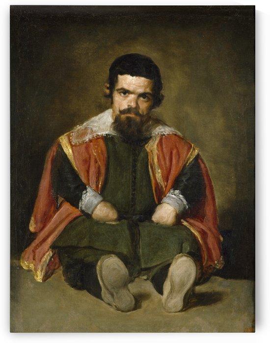 Bufon Don Sebastian de Morra by Diego Velazquez